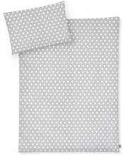 Zöllner Bedding Stars grey 100x135 cm