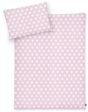 Zöllner Bettwäsche Sterne rosa 100x135