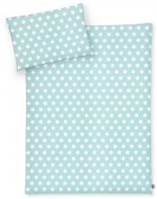 Zöllner Bedding Stars mint green 100x135 cm