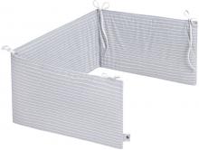 Zöllner Nestchen Comfort Soft 180cm Grey Stripes
