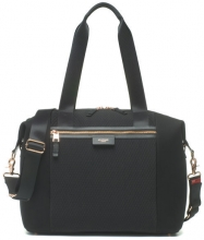 Storksak Changing Bag Stevie Luxe black scuba