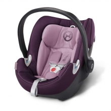 Cybex Aton Q Princess Pink Purple