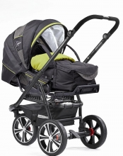 Gesslein 470470 F3 Air frame black incl. C1 softcarrycot
