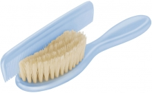 Rotho comb and brush sky blue