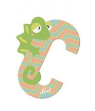Sevi wooden letter C chameleon