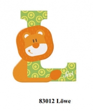 Sevi wooden letter L lion