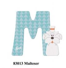 Sevi wooden letter M Malteser