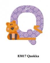 Sevi wooden letter Q Qoukka