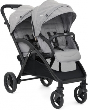 Joie Evalite Duo double stroller Gray Flannel