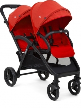 Joie Evalite Duo double stroller Lychee