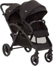 Joie Evalite Duo double stroller Coal