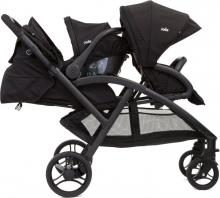 Joie Evalite Duo double stroller Coal
