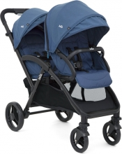 Joie Evalite Duo double stroller Deep Sea