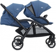 Joie Evalite Duo double stroller Deep Sea
