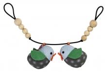 FRANCK & FISCHER Pram clip chain Astrid blue
