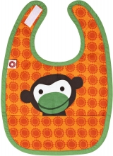 FRANCK & FISCHER Bib monkey orange