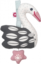 FRANCK & FISCHER Musical toy swan Else
