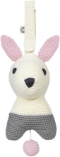 FRANCK & FISCHER Musical toy bunny Hella white