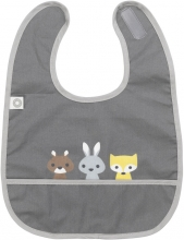 FRANCK & FISCHER Bib friends grey