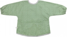 FRANCK & FISCHER Bib with sleeves green