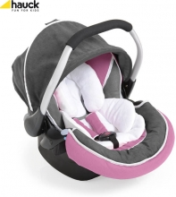 Hauck car seat Gr. 0+/0-13kg Zero Plus select pink/grey 61409-9