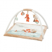 Nattou 296243 Fanny & Oscar playmat with activity gym