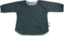 FRANCK & FISCHER Bib with sleeves grey
