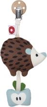 FRANCK & FISCHER Tinka rattle hedgehog with clip