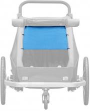 Croozer Sonnenschutz Kid 2/Kid Plus 2 ocean blue