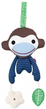 FRANCK & FISCHER Activity Toy Monkey Asger blue