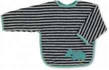 Sterntaler Sleeved bib crocodile Konrad