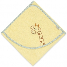 Sterntaler hooded bath towel Zoo giraffe Greta 100x100
