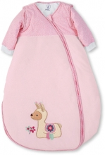 Sterntaler Sleeping bag pink Zoo 90cm