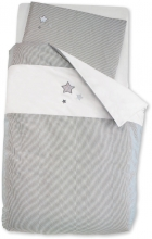 Sterntaler Bed set grey 100x135