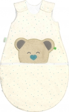 Odenwälder BabyNest® Mucki Air Jersey sleeping bag hearts mint