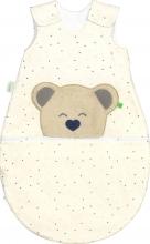 Odenwälder BabyNest® Mucki Air Jersey sleping bag hearts blue