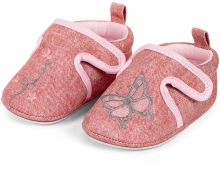 Sterntaler 2301962 Baby-Krabbelschuh 17/18 rosa