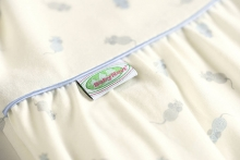 Odenwälder Tencel sleeping bag climasoft cold 70 cm blue