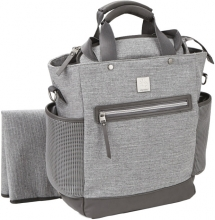 Ergobaby Diaper Bag Coffee Run grey sport