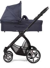 Gesslein Indy combi-stroller Sailor Blue incl. carryot, seat frame silver/black