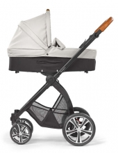 Gesslein Indy combi-stroller Campus incl. carryot, seat frame black/cognac