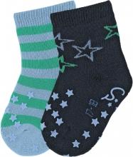 Sterntaler ABS crawling socks 17/18 stars marine