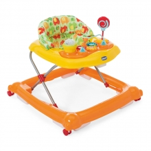 Chicco walking learning aid Circus Orange Wave