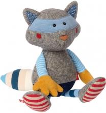Sigikid 38962 Sweety Patchwork raccoon