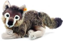Steiff Snorry Schlenker Wolf 40 grau/braun 069284