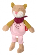 Sigikid 39029 Cuddly toy cat Urban Baby Edition