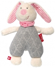 Sigikid 39036 Cuddly toy bunny rose Urban Baby Edition