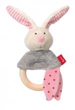 Sigikid 39037 Greifling Hase rosa Urban Baby Edition