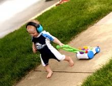 Banz Baby Earmuffs kaleidoscope (0-2 years)