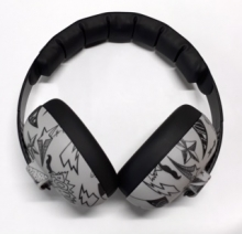 Banz Baby Earmuffs graffiti  (0-2 years)